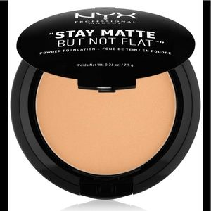 NEW NYX STAY MATTE BUT NOT FLAT FOUNDATION POWDER